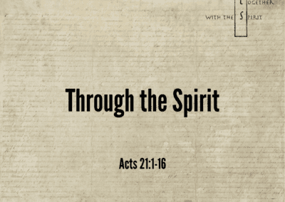 Through the Spirit