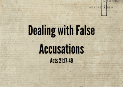 Dealing with False Accusations