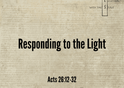 Responding to the Light