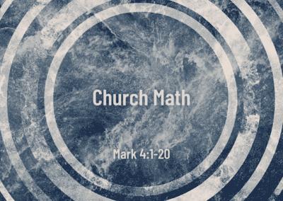 Church Math 7:45 Service